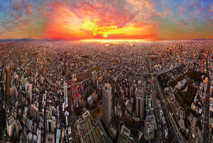 아름다운 오사카의 낮과 밤을 즐겨보세요