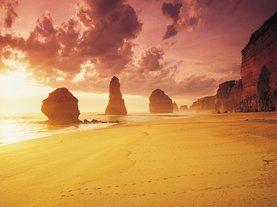 [멜버른출발] 세상의 끝에서 바라보는 핑크빛 선셋! 그레이트오션로드 선셋 투어