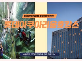 [3%할인쿠폰][서울] 롯데월드 아쿠아리움 패키지(호텔+티켓) #잠실아쿠아리움